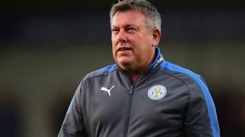 Craig Shakespeare: First Leicester City press conference was toughest career moment