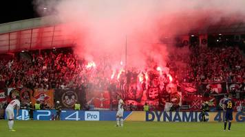 spartak moscow: uefa charge russian club after flare fired towards referee
