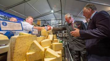 prince charles makes first visit to westmorland county show