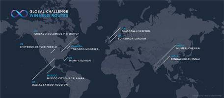 hyperloop one picks 10 routes including edinburgh to london in 50 minutes