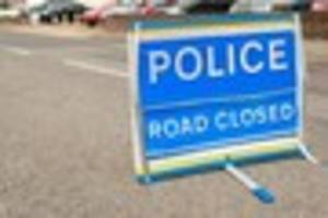 A crash has closed part of a busy section of the M20  between...