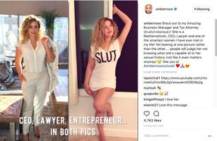 """amber rose shows sluts come in all shapes & sizes: """"one of the smartest women i have ever met in my life!"""""""