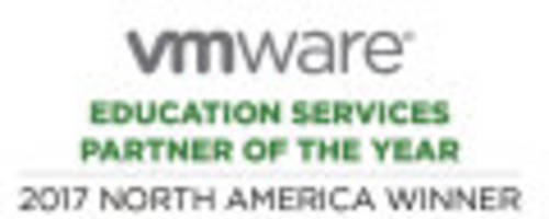new horizons computer learning centers receives education services north america partner of the year award at vmware partner exchange 2017