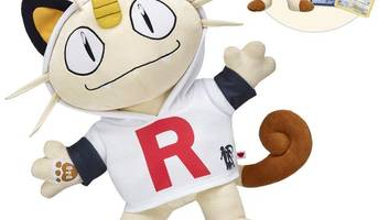 Meowth blasts off to Build-A-Bear Workshop