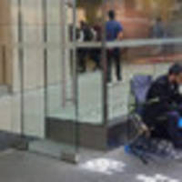 man lines up outside apple store 10 days early for iphone x, not out until november 3