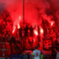 Watch: Spartak Moscow fans shoot flare gun at Champions League referee