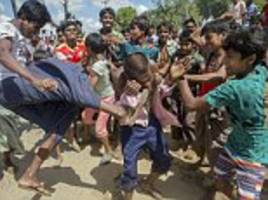 Rohingya Muslim mob lynch suspected child snatcher
