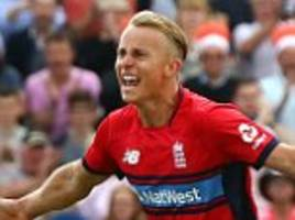 chris gayle holds no fear for england's tom curran