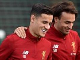 liverpool's phillipe coutinho is ready for burnley - klopp