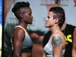 nicola adams weighs in for canelo-golovkin undercard bout