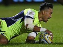 sale 36-7 london irish: denny solomona scores double