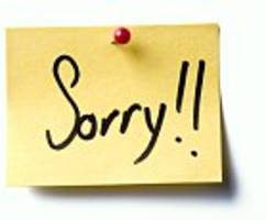 study shows that apologising can make rejection feel worse