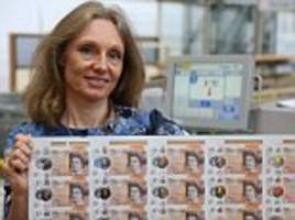 bank of england chief cashier victoria cleland on new £10