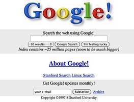 Google.com was created 20 years ago — here's what it looked like when it first launched (GOOG, GOOGL)