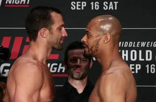 Luke Rockhold talks David Branch ahead of UFC Fight Night: 'The guy just thinks a lot of himself'
