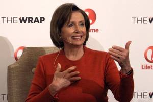 Nancy Pelosi Would Not Be Interrupted, Tells Men at White House Dinner to Let the Women Talk