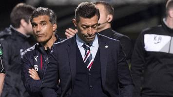 partick thistle 2-2 rangers: pedro caixinha rues 'lost two points'