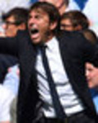 Chelsea boss Antonio Conte struck down by common cold - and his players are loving it