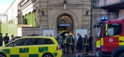 london train explosion: 18 people injured; causes panic in station area