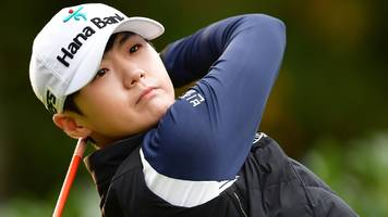 Evian Championship: Sung Hyun Park leads after first round