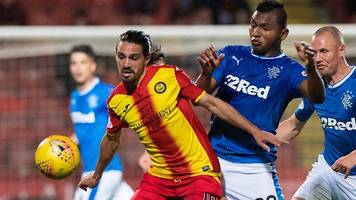 scottish premiership highlights: partick thistle 2-2 rangers