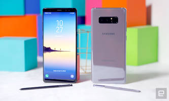 Samsung's Galaxy Note 8 hits stores today