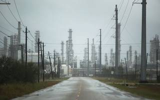 hurricane harvey drags us industrial output into biggest drop in nine years