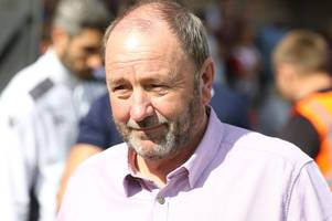 cheltenham town manager gary johnson's message to fans: stick with us and we'll turn this around