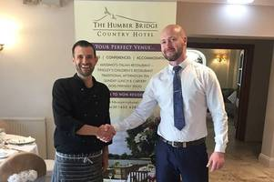 exciting new team drive the humber bridge country hotel forward
