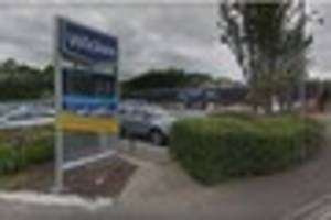 a man has died after being taken ill at a chatham diy shop