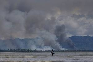 New Documentation of Scorched-Earth Campaign Against Rohingya in Myanmar
