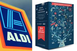 Aldi launches wine-filled Advent calendar – and the booze works out very cheap