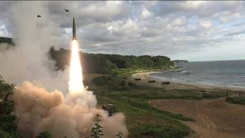 North Korea missile: South Korea responds with drill