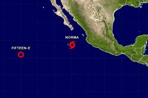 Tropical Storm Norma Expected to Become Hurricane, Still a Threat to Baja California