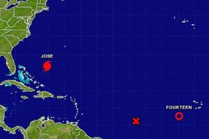 Jose Becomes Category 1 Hurricane, Path Threatens US East Coast