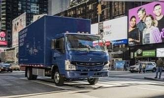 UPS Adds Mitsubishi Fuso eCanter Electric Truck To Its U.S. Fleet