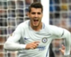arsenal striker lacazette inferior to 'top drawer' chelsea rival morata, says merson