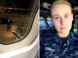 heart-wrenching moment fallen soldier is returned home