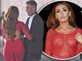 Laura Simpson cosies up to Jemma Lucy's ex David Hawley