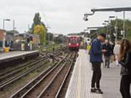 defiant londoners return to bombed parsons green station