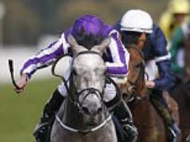 ryan moore wins st leger on capri to complete classic haul