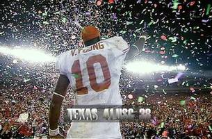 Vince Young and Matt Leinart face off one more time to reminisce about the 2006 Rose Bowl