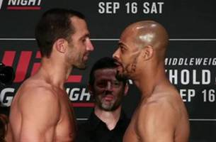 UFC Fight Night: Luke Rockhold is ready to go!