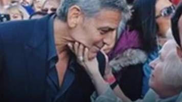 the grandmother who squeezed clooney and more happy news