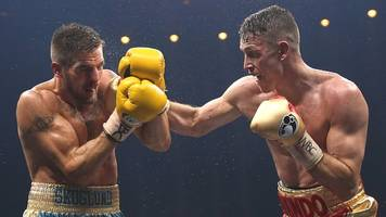 World Boxing Super Series: Callum Smith beats Erik Skoglund on points