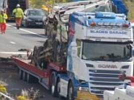Four dead as horror crash closes the M5 in both directions