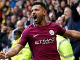Watford 0-6 Manchester City: Aguero helps City beat hosts