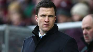 gary caldwell: chesterfield sack manager after eight months in charge