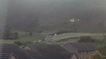man rescued after falling 40ft down arthur's seat