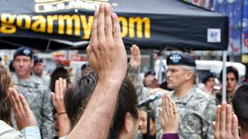 Army Shreds Immigrant Enlistments, Leaves Some At Risk Of Deportation